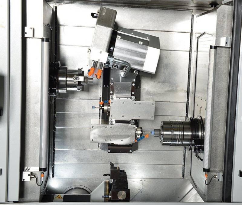 Spinner combineert slijpen en (hard)draaien in één machine: de Microturn-Grind